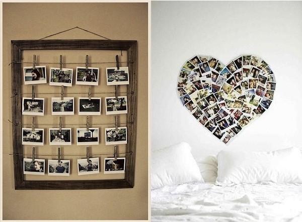 Ideas para decorar con fotos decoraci n del hogar - Como decorar fotos ...