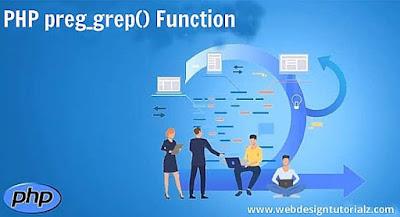 PHP preg_grep() Function
