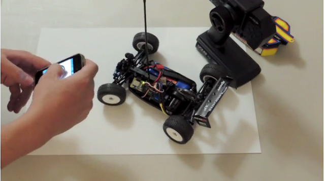 Add Bluetooth Smartphone Command To Your Existing Rc Vehicles Inwards Ii Seconds!
