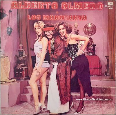 Alberto Olmedo El Manosanta vinilo disco