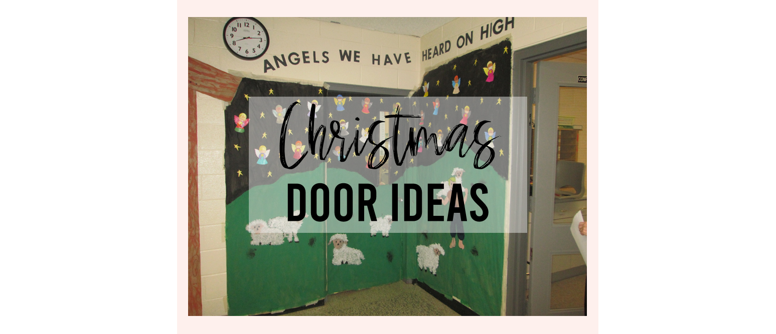 A tour of Christmas classroom door decorations around my school! #classroomdoor #christmasdoor #Christmas