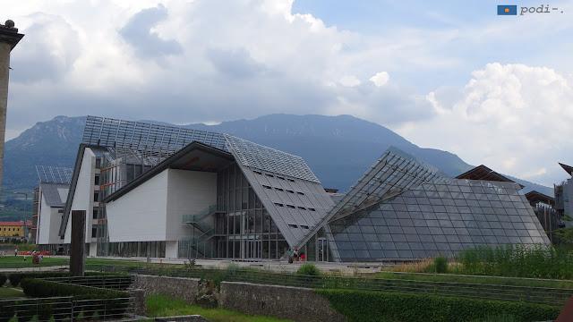Alto Adige, Trento, museo della scienza