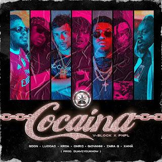"""Gson, Luccas, Kroa, Chris, Giovanni, Zara G e Xamã - Cocaína """"Rap"""" [Download]"""