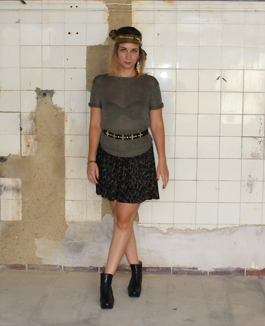 Outfit of the day: army hippie by Livinglove by petra