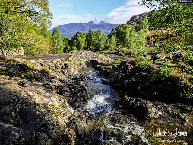 ASHNESS BRIDGE, BORROWDALE, UK