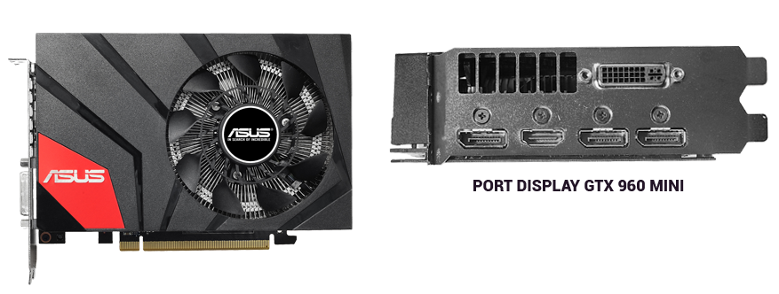look of Asus GTX 960 mini