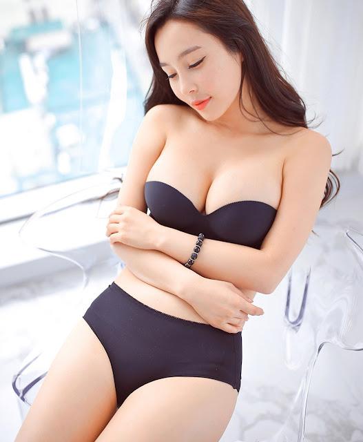 3 Lee Ji Na - lingerie collection - very cute asian girl-girlcute4u.blogspot.com