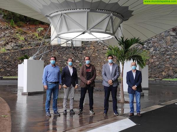 El Cabildo finaliza las obras del nuevo espacio para eventos de Tijarafe