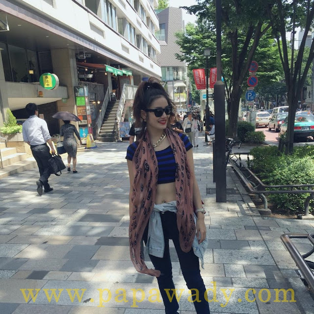 Celebrity of The Week - Elizabeth Awnseng in Japan