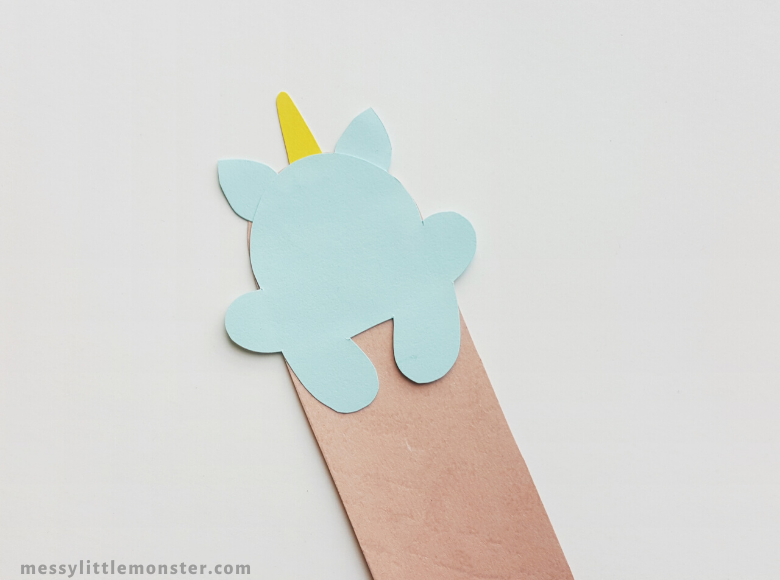 paper bookmark craft