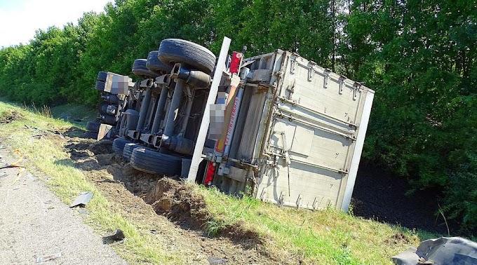 Két baleset is történt majdnem egyszerre az M5-ös autópályán