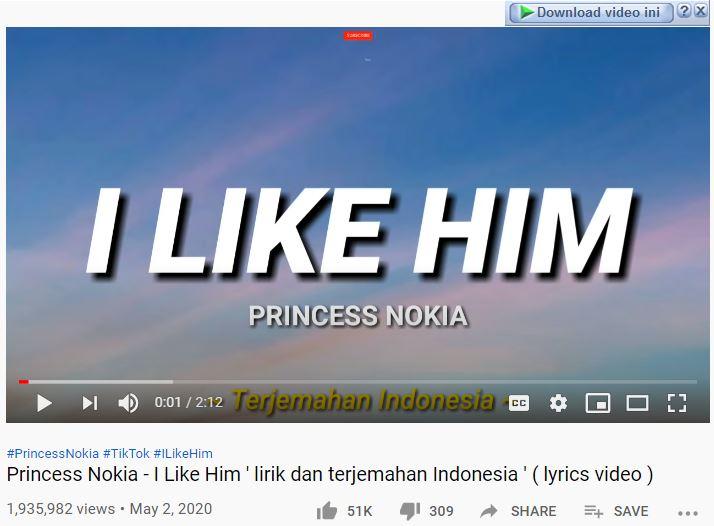 Download Lagu Mp3 I Like Him Tiktok Princess Nokia 2 01 Mb Lirik Lagu Review Teknologi Sekarang