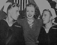 Carole Landis With Soldiers