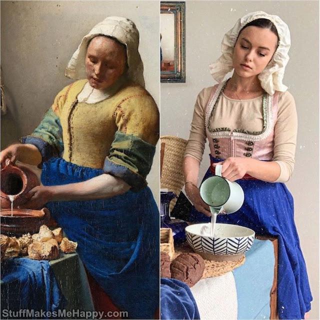 La Laitière (Johannes Vermeer)