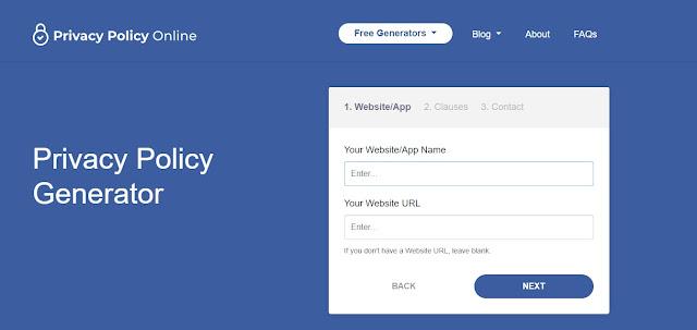 Tutorial Cara Membuat Privacy Policy Blog Terbaru