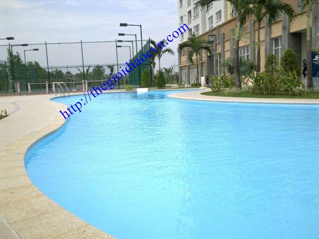 Hồ bơi khu căn hộ The Eastern quận 9