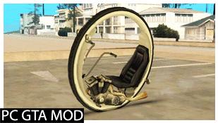 Free Download  Mono Wheel  Mod for GTA San Andreas.