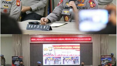 Pasca Bom Bunuh Diri, Polri Amankan Lima Bom Aktif Dan Tangkap 13 Terduga Teroris Di Jakarta - Makassar - NTB