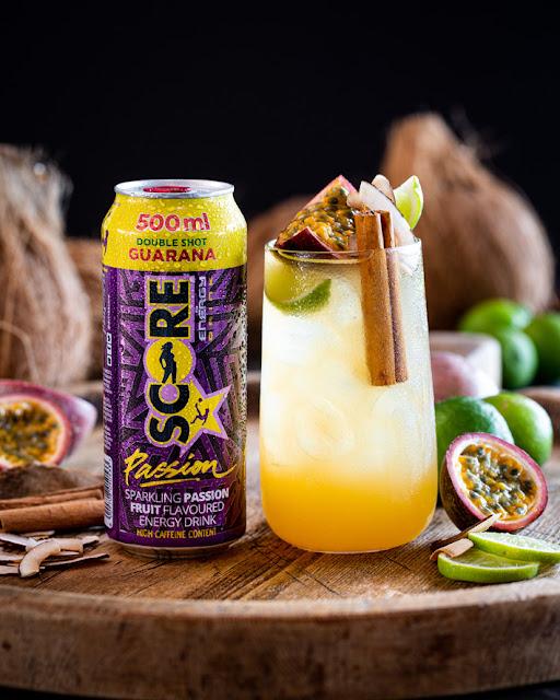 Score Passion Mocktail Recipes #PassionFruit @DrinkScore #ScoreEnergyDrink