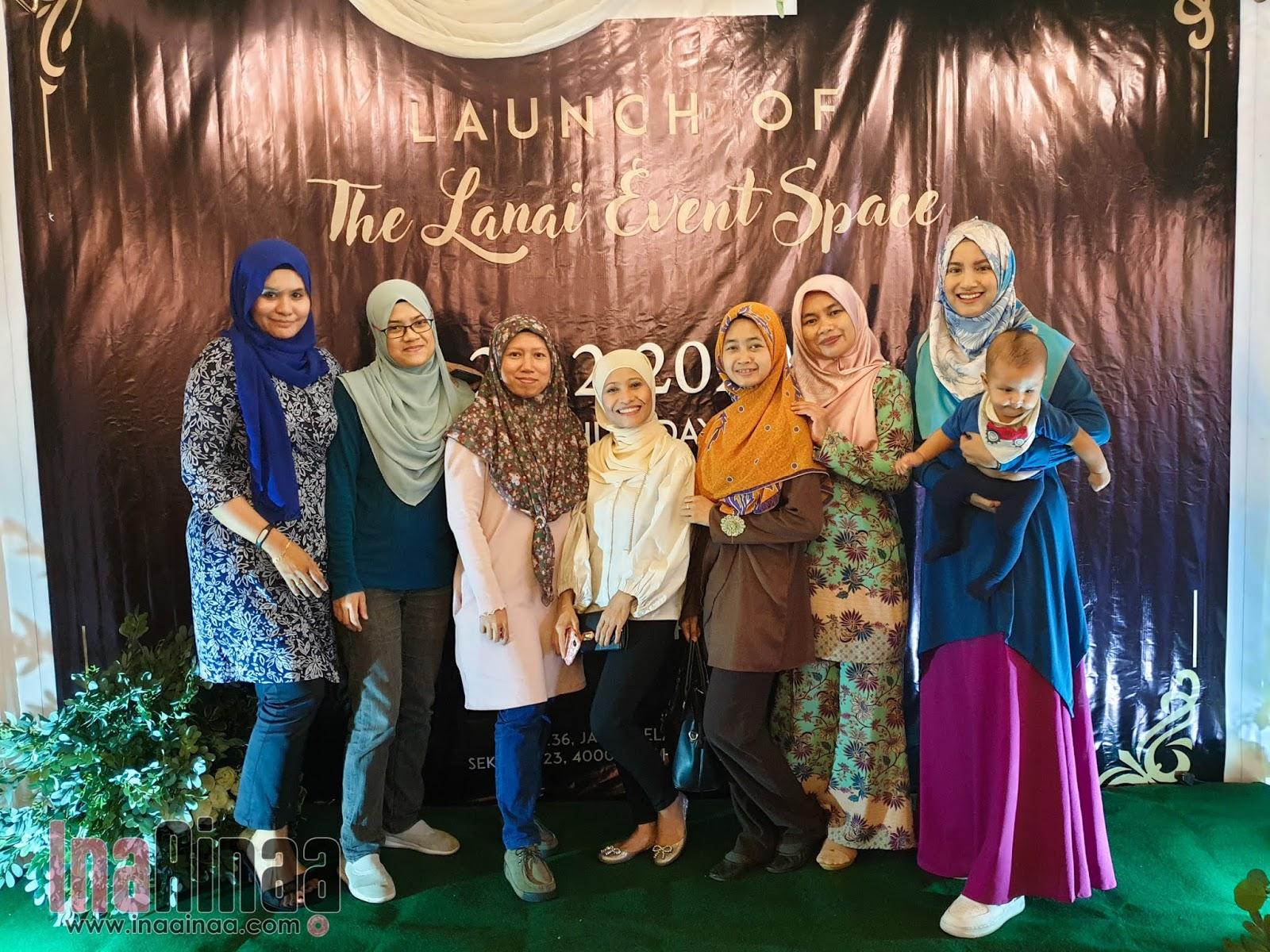 THE LANAI EVENT SPACE - Hak Milik Ina Ainaa