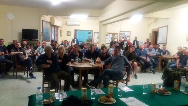 Με επιτυχία πραγματοποιήθηκε το εκπαιδευτικό σεμινάριο που διοργάνωσε ο Κυνηγετικός Σύλλογος Λαμίας