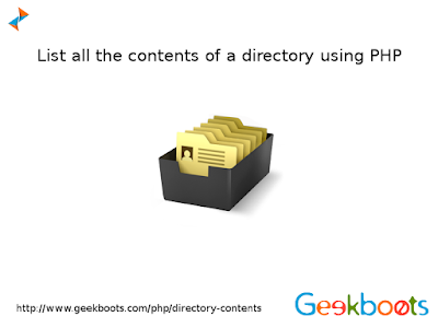 https://www.geekboots.com/php/directory-contents