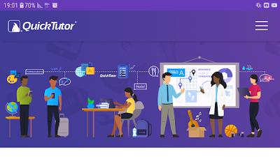 تحميل تطبيقQuickTutor يمكنك من تعلم بالبث المباشر مع أفضل المدرسين في جميع أنحاء العالم