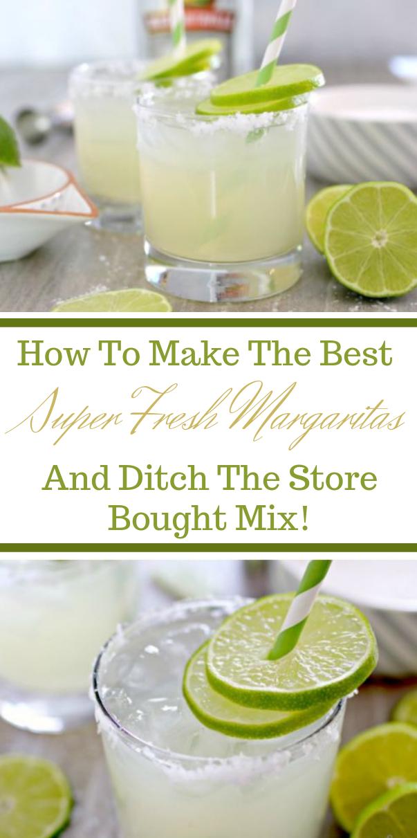 Homemade Fresh Margarita Recipe #fresdrink #governori #margaritas #smoothie #cocktail