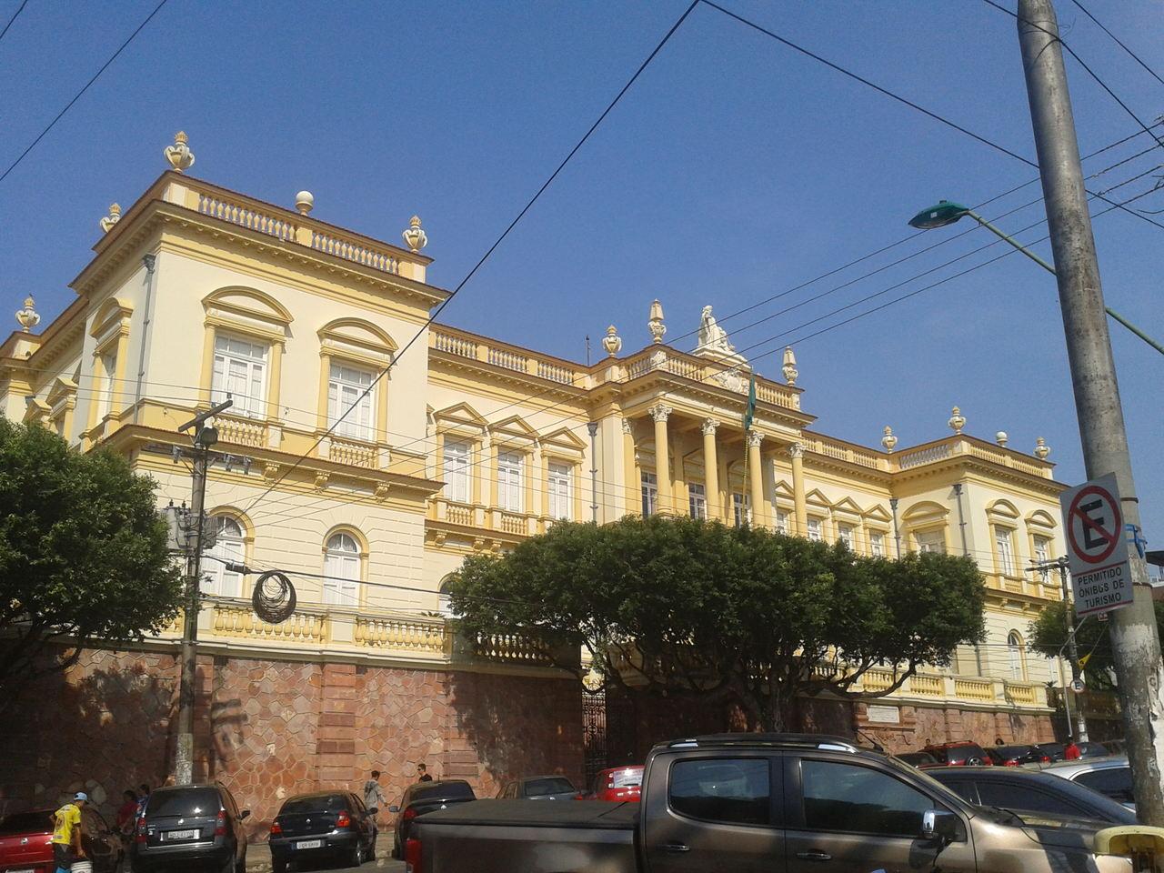 Palácio da Justiça - Largo de São Sebastião - Manaus