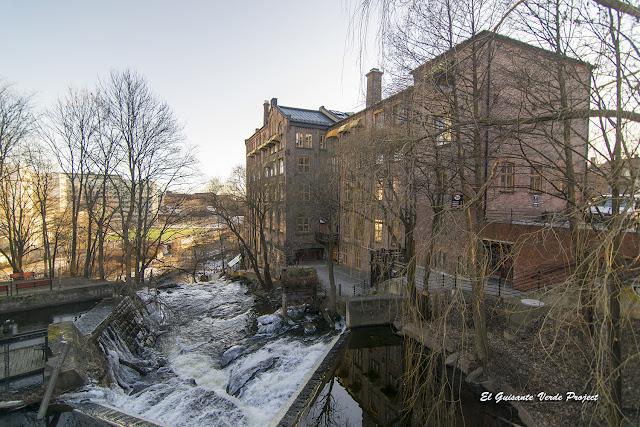Gran Catarata de Beierbrua, Akerselva - Oslo por El Guisante Verde Project