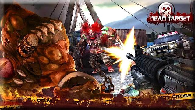 تحميل لعبة DEAD TARGET Zombie v2.3.3 مهكرة للاندرويد (اخر اصدار)