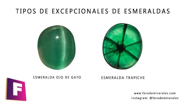 esmeralda ojo de gato y esmeralda trapiche - tipos de esmeraldas | foro de minerales