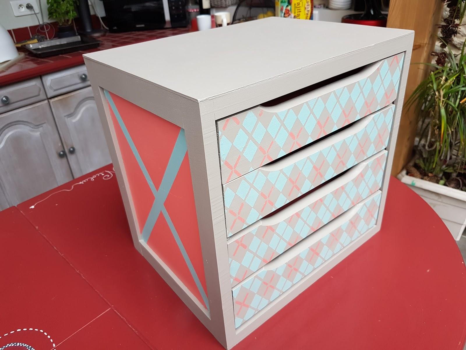 La d co de mag petit meuble tiroir for Meuble tiroir petit