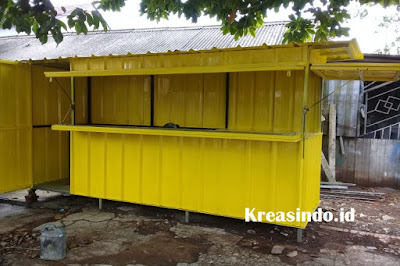 Jasa Booth Besi Semi Container Serang dan sekitarnya