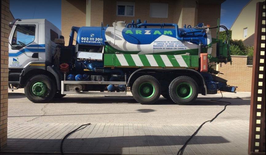 Limpieza y vaciado de fosas sépticas en Duruelo (Segovia)