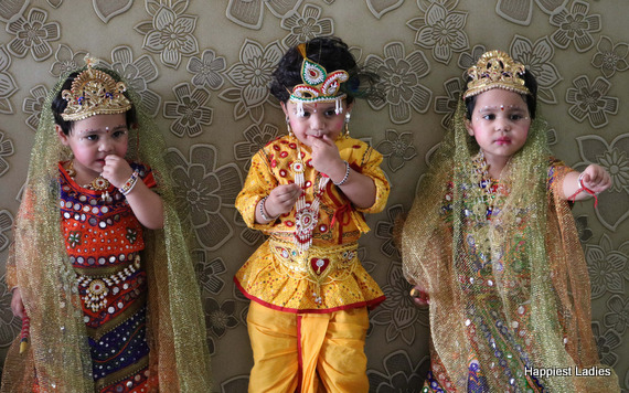 radha krishna dress for kids