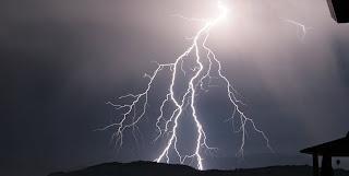 Zeus Weltenbaum als Blitz - Baum des Lebens