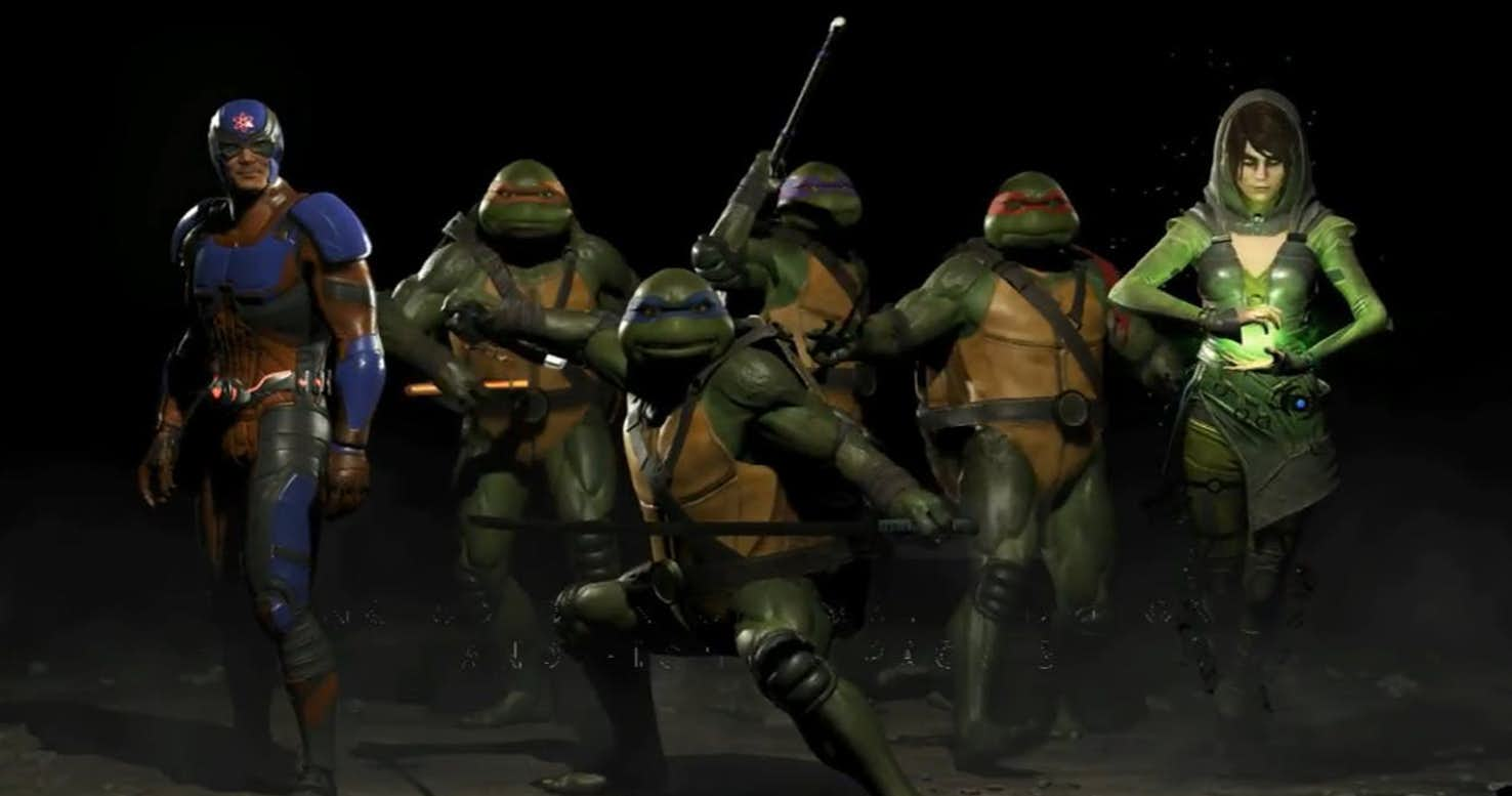 Injustice 2 : Teenage Mutant Ninja Turtles Introduced As Fighter Pack 3.