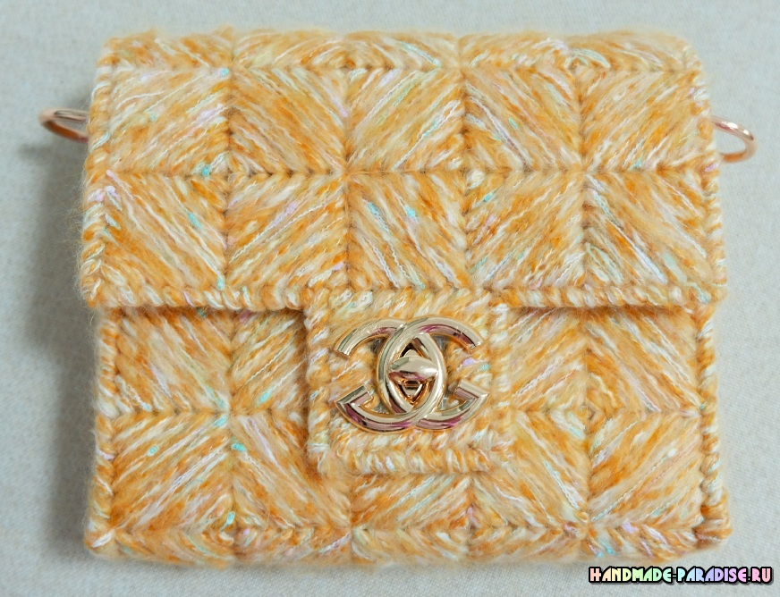 Как создать сумку из пластиковой канвы (1)