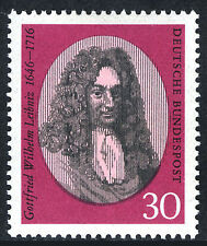 Gottfried Wilhelm Leibniz, German mathematician and philosopher 1966
