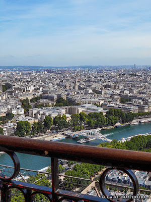East view of Paris
