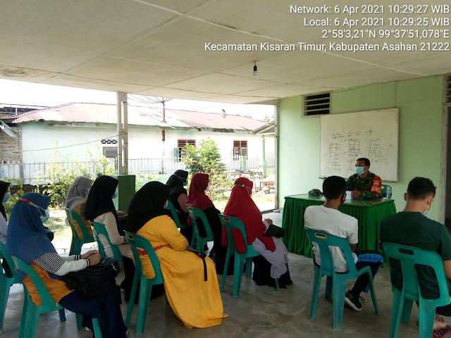 Komunikasi Sosial Personel Jajaran Kodim 0208/Asahan Dalam Rangka Jalin Silaturahmi Dengan Ketua Organisasi