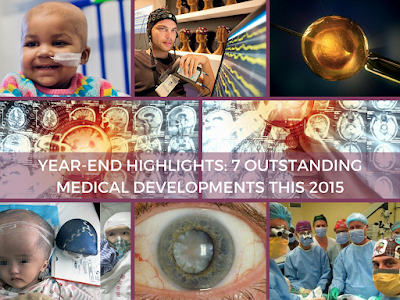 Year-End Highlights: 7 Outstanding Medical Developments this 2015