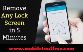 Android phone Pattern Lock Remove