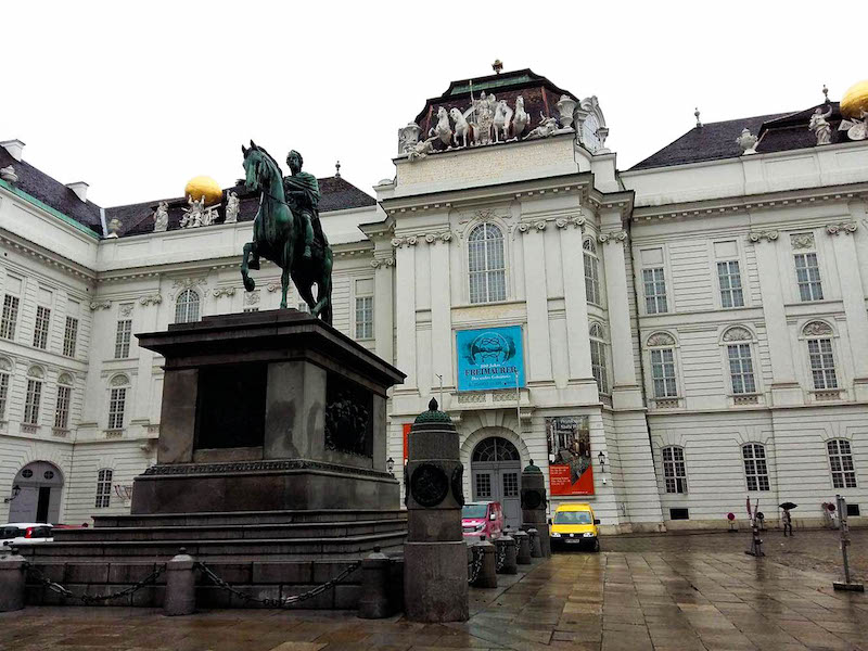 Wiedeń w jeden dzień, wycieczka do Wiednia, Wiedeń Hofburg