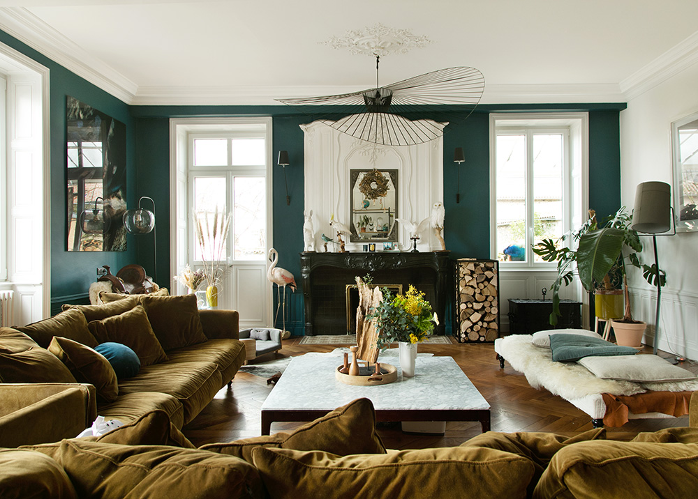 An inspired family home in Lyon, France