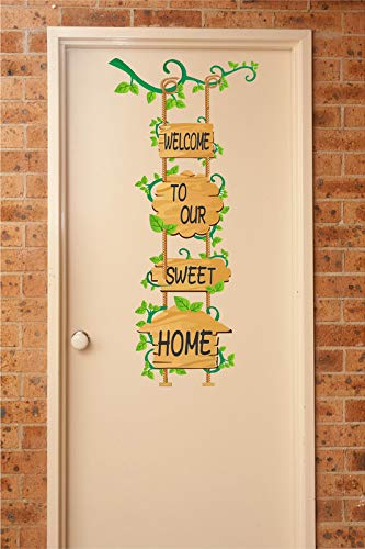 Welcome to Our Sweet Home Wall Sticker
