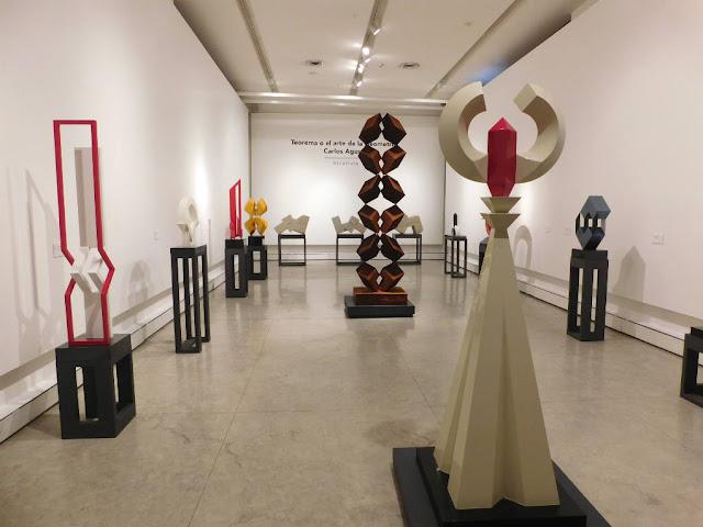 Carlos Agustín en el Museo de Arte de la SHCP