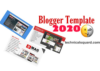 200+ Free SEO Friendly Responsive Blogger Templates 2019!