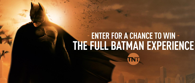 TNT is celebrating Batweek by giving away a fantastic Batman inspired trip to Los Angeles, California where you'll get to ride in the BATMOBILE!